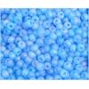 Seedbead Aqua Rainbow Matte 4/0